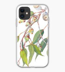 Australian native eucalyptus tree branch iPhone Case