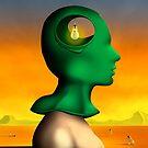 Perfil em Verde. by Marcel Caram