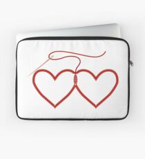 Stitched Hearts Laptop Sleeve