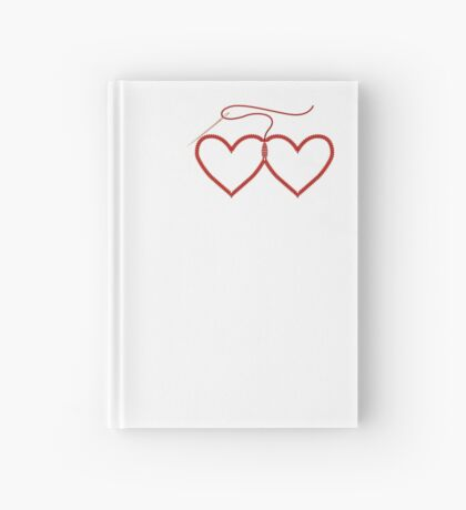 Stitched Hearts Hardcover Journal