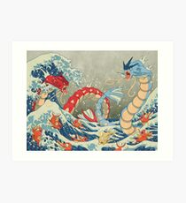 The Great Wave FULL Art Print