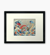 The Great Wave FULL Framed Print