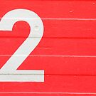 TWO on red by TalBright