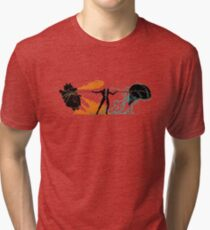 Brain vs Heart Tri-blend T-Shirt