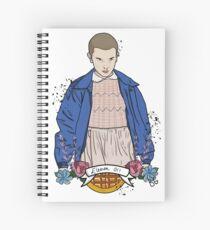 Stranger Things Eleven Spiral Notebook