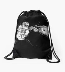 lacrosse goalie Drawstring Bag