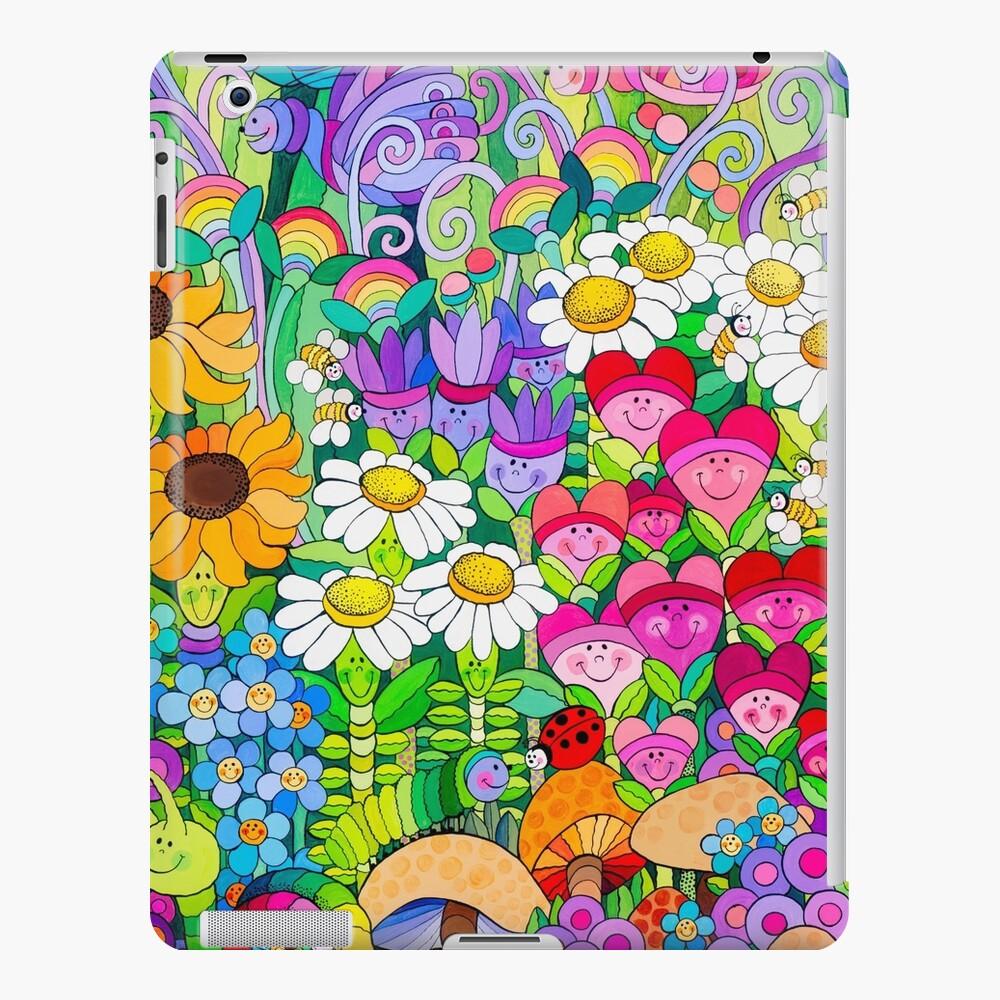 Mariquita Jardín Funda y vinilo para iPad
