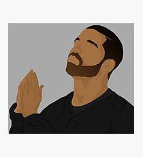 Drake 6 God Photographic Print