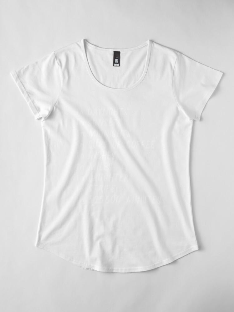 Alternate view of Seasons of love Premium Scoop T-Shirt