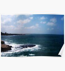 Mediterranean Coast Poster