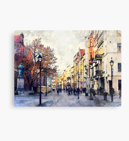 Torun city art 3 #torun #city Canvas Print