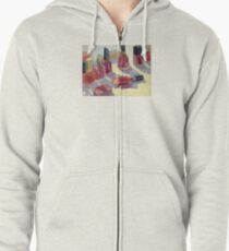 Nail Polish - What Color Today? Zipped Hoodie