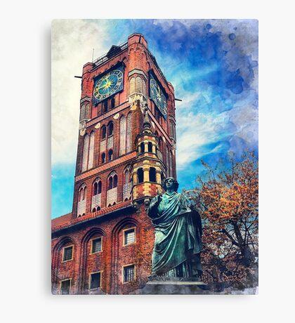 Torun city art 4 #torun #city Canvas Print