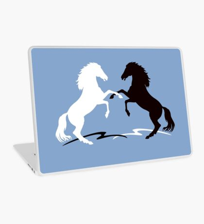 Two horses Laptop Skin