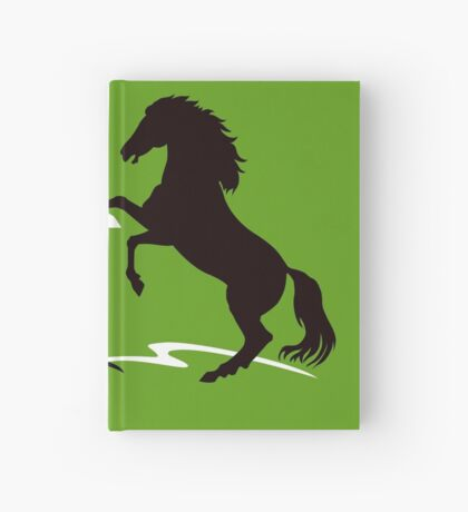 Two horses Hardcover Journal