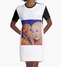 The Secret Graphic T-Shirt Dress