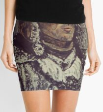Snowy Man Mini Skirt