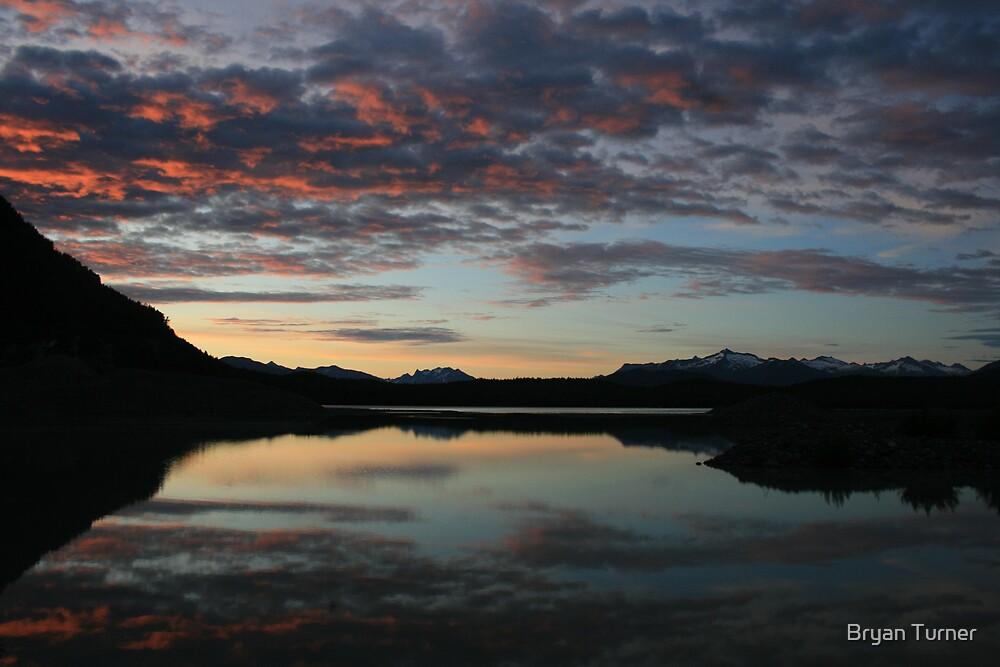 11:37pm, Sunset in Alaska by Bryan Turner