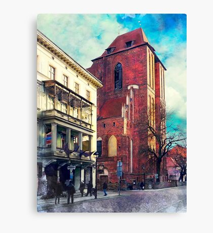 Torun city art 5 #torun #city Canvas Print
