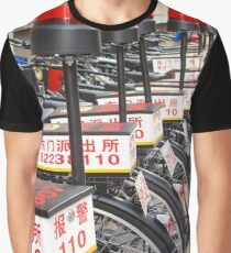 Police Bicycles  Graphic T-Shirt