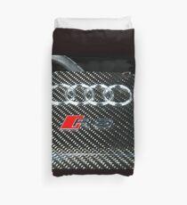 Audi RS4 Avant Badge Duvet Cover