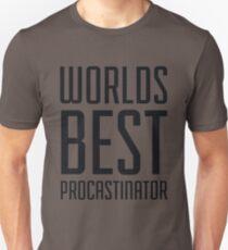 Worlds Best Procrastinator T-Shirt