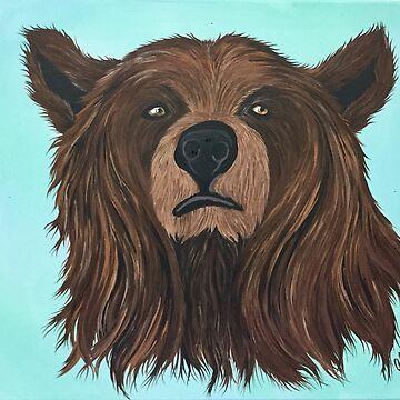 Giant Brown Bear by Alinton12