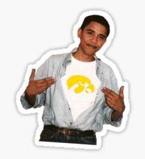 Obama Iowa Sticker