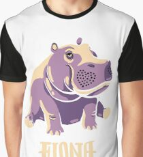 Fiona The Hippo Shirt #TeamFiona Merch, Cute Baby Hippo  Graphic T-Shirt