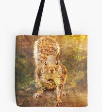 Squirrel hopes Tote Bag