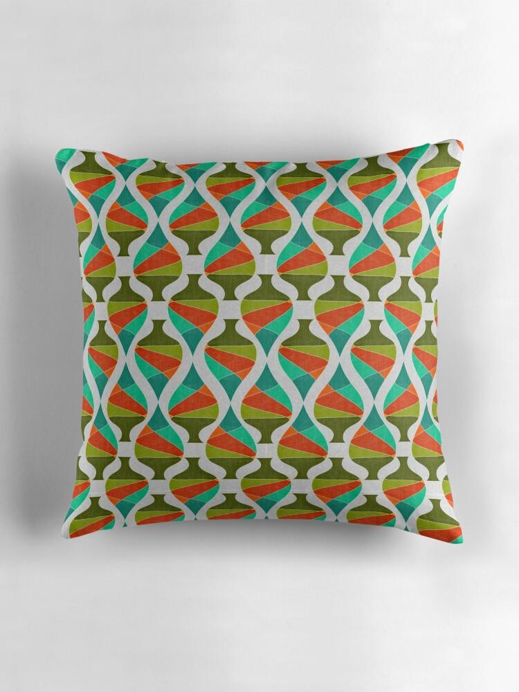 Mid Century Style Throw Pillows :