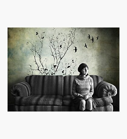 dreaming of the world outside. Photographic Print
