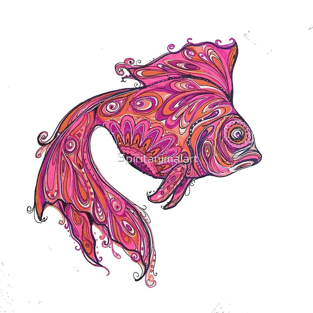 Fish by Spiritanimalart