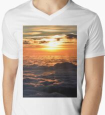 Sky Men's V-Neck T-Shirt