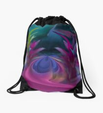 Carefree Highway Drawstring Bag
