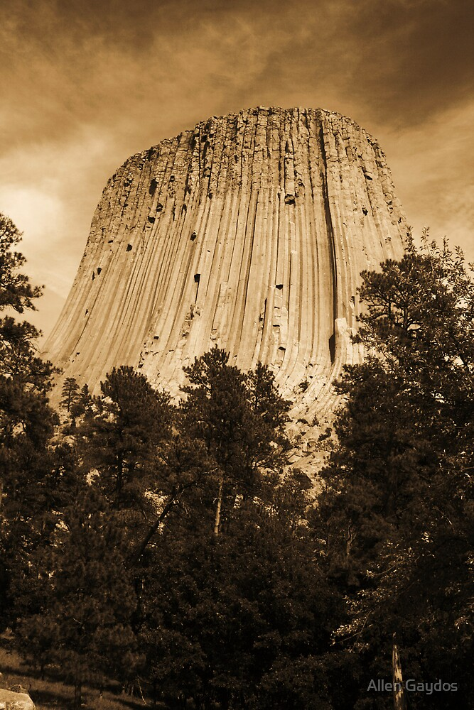 Devils Tower by Allen Gaydos