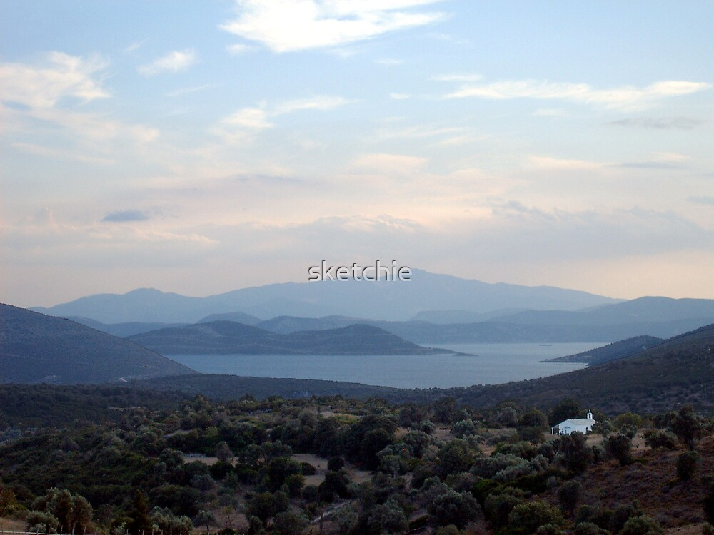 Greece Evia by sketchie