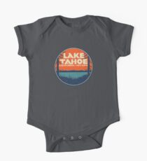 Lake Tahoe California Nevada Vintage State Travel Decal One Piece - Short Sleeve