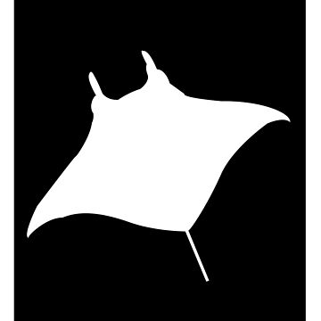 Manta Print by Shloink