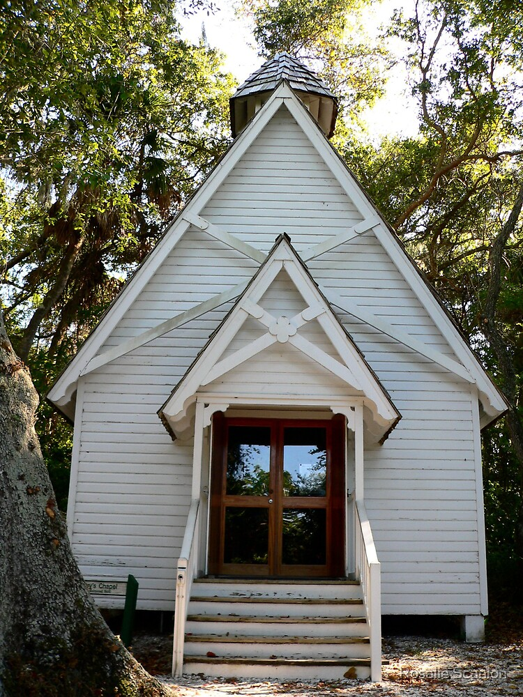 Little Old Chapel by Rosalie Scanlon