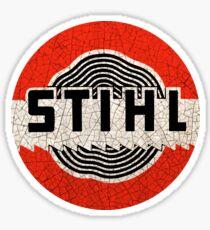 Vintage Stihl Chainsaws Sticker