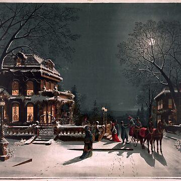 Victorian Christmas Eve Gathering by AtticSalt