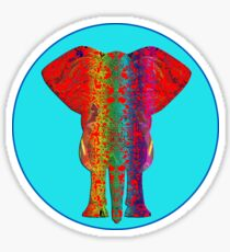 Rainbow Ganesha (Blue)  Sticker