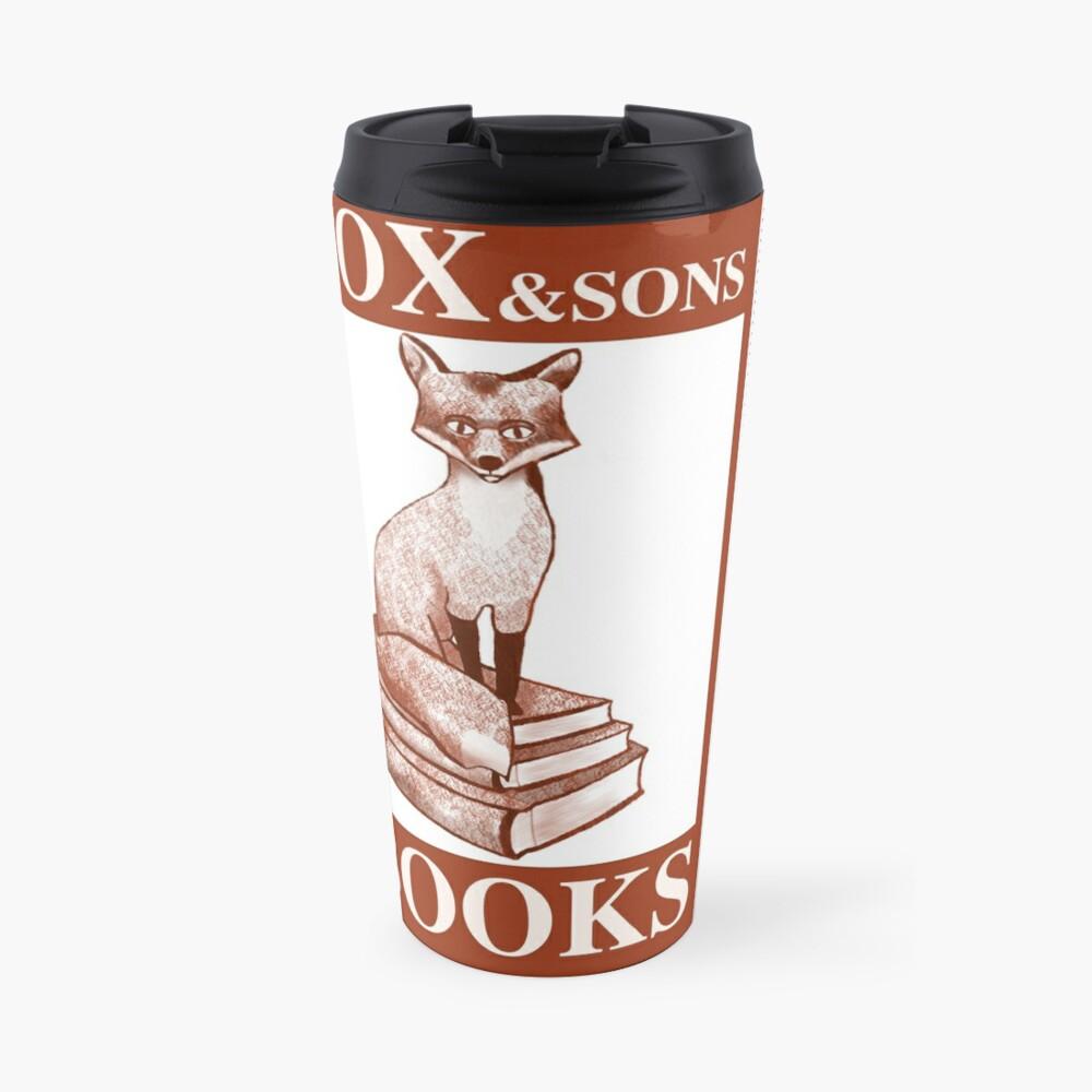 Du hast Mil: Fox und Son's Books Thermobecher