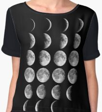 Moon Phases Chiffon Top