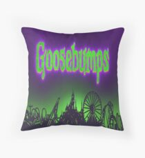 GOOSEBUMPS Throw Pillow