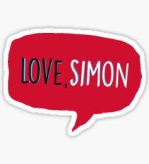 Love, Simon  Sticker