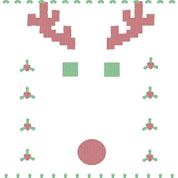 Ugly Christmas Sweater Shirt by Dinosaursarecoo