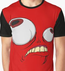Repressed Rage Face Graphic T-Shirt