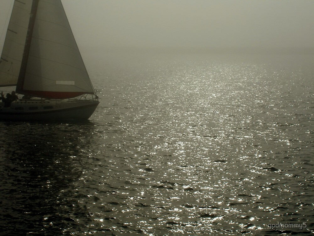 Sailing on the Rise of the Fog by godmommy5